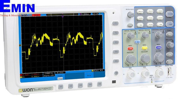 OWON SDS7102V 100MHz Oscilloscope with VGA Port (100MHz, 2 Channel)